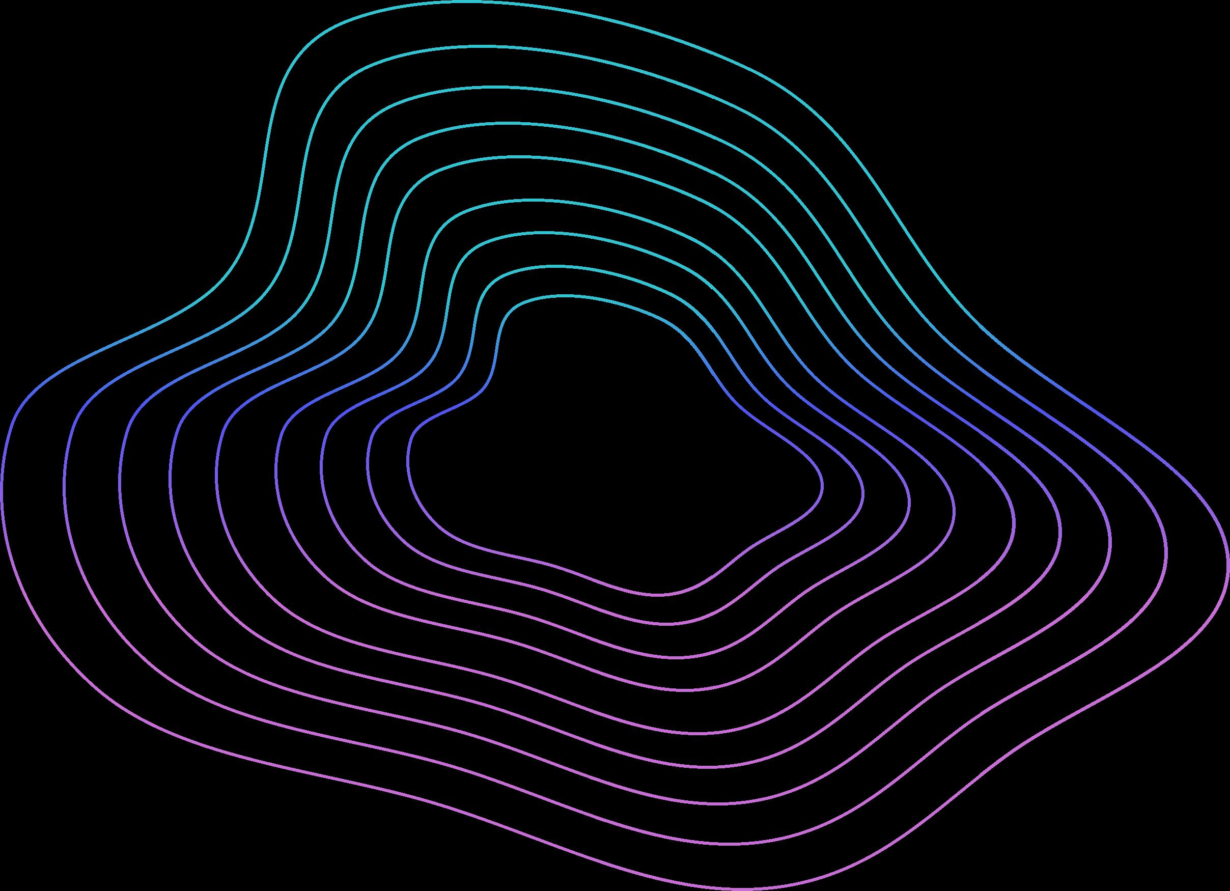 Vesmír abstraktní čáry
